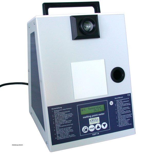 Melting Point Meter +30 - 360C  with 10X magnification optic and microproce